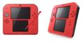 Nintendoニンテンドー 2DS レッド FTR-S-RCAA