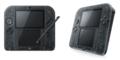 Nintendoニンテンドー 2DS クリアブラック FTR-S-KCAA