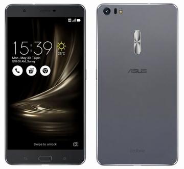 ASUSZenFone 3 Ultra 4GB 64GB グレー (海外版SIMロックフリー) ZU680KL