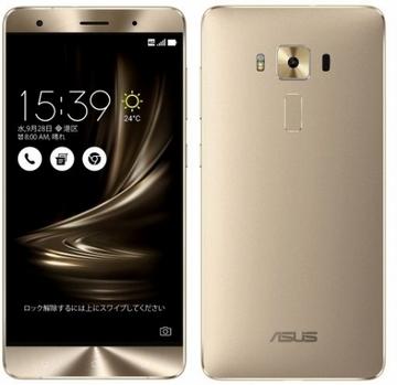 ASUSZenFone 3 Deluxe 5.7インチ 6GB 64GB ゴールド (海外版SIMロックフリー) ZS570KL