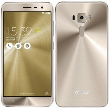 ASUSZenFone 3 5.2インチ 4GB 64GB Shimmer Gold (海外版SIMロックフリー) ZE520KL