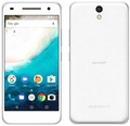 SHARPymobile Android One S1 ホワイト