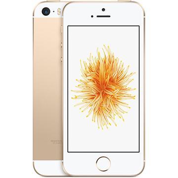 AppleSoftBank 【SIMロック解除済み】 iPhone SE 128GB ゴールド MP882J/A