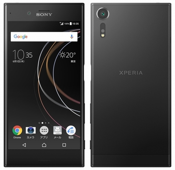 SONY SoftBank Xperia XZs 602SO ブラック
