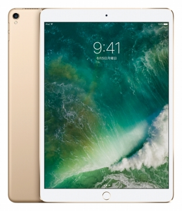 docomo iPad Pro 10.5インチ Cellular 256GB ゴールド MPHJ2J/A