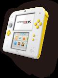 Nintendoニンテンドー 2DS スーパーマリオパック 【ホワイトxイエロー】 FTR-S-WDDT