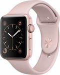 AppleApple Watch Series2 42mmローズゴールドアルミニウム/ピンクサンドスポーツバンド MQ1H2J/A