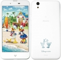 SHARPdocomo Disney Mobile on docomo DM-01J White