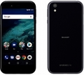 SHARP ymobile Android One X1 ダークパープル