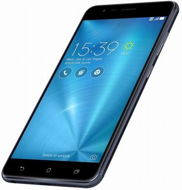 ASUSZenFone 3 Zoom 3GB 32GB ネイビーブラック (海外版SIMロックフリー) ZE553KL