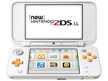 NintendoNewニンテンドー2DS LL ホワイト×オレンジ JAN-S-OAAA