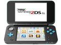Nintendo Newニンテンドー2DS LL ブラック×ターコイズ JAN-S-BAAA