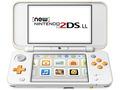 Nintendo Newニンテンドー2DS LL ホワイト×オレンジ JAN-S-OAAA