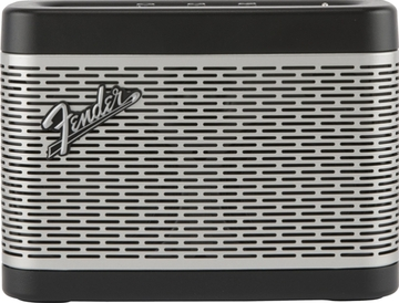 FenderNewport Bluetooth Speaker-Black and Silver