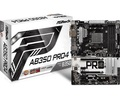 ASRockAB350 Pro4 B350/AM4/ATX