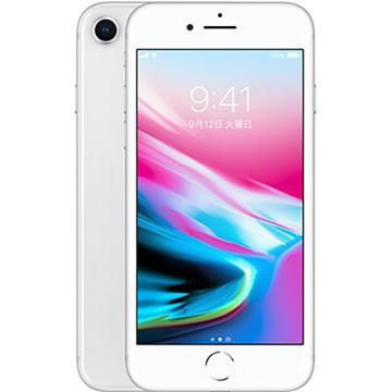 AppleSoftBank 【SIMロック解除済み】 iPhone 8 64GB シルバー MQ792J/A