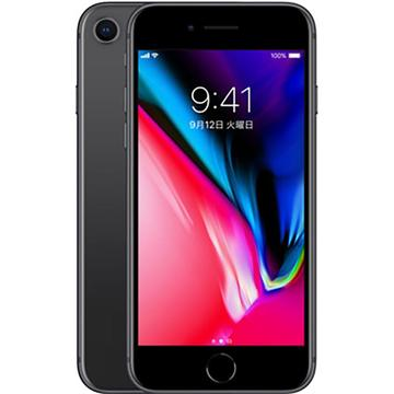 iPhone 8 64GB スペースグレイ (国内版SIMロックフリー) MQ782J/A
