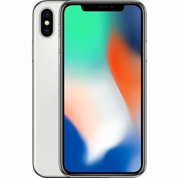 au iPhone X 64GB シルバー MQAY2J/A
