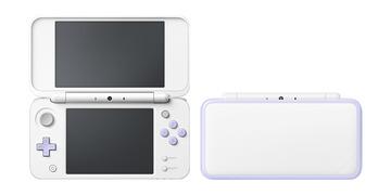 NintendoNewニンテンドー2DS LL ホワイト×ラベンダー JAN-S-UAAA