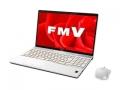 Fujitsu LIFEBOOK AH AH77/B3 FMVA77B3W プレミアムホワイト