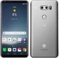 LG電子au 【SIMロック解除済み】 isai V30+ LGV35 クラウドシルバー