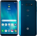 LG電子au 【SIMロック解除済み】 isai V30+ LGV35 モロッカンブルー
