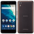 KYOCERAymobile Android One S4 ブラウンブラック