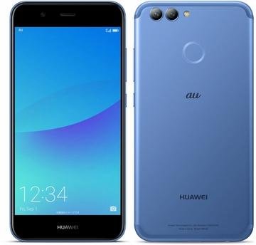 Huaweiau 【SIMロック解除済み】 HUAWEI nova 2 HWV31 オーロラブルー