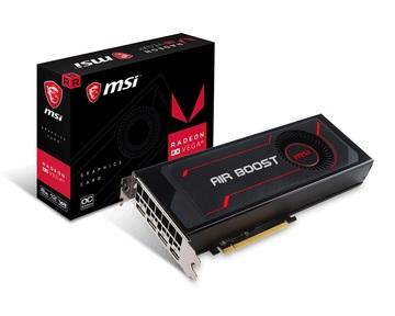 MSIRadeon RX Vega 56 Air Boost 8G OC RX VEGA 56/8GB(HBM2)/PCI-E