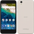 SHARPSoftBank Android One S3 ホワイト