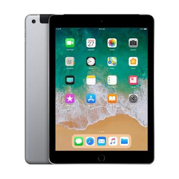au iPad(第6世代/2018) Cellular 128GB スペースグレイ MR722J/A