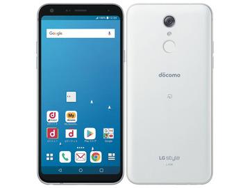 LG電子docomo 【SIMロック解除済み】 LG style L-03K White