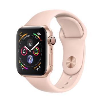 AppleApple Watch Series4 40mm GPS ゴールドアルミニウム/ピンクサンドスポーツバンド MU682J/A