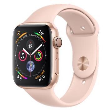 AppleApple Watch Series4 44mm GPS ゴールドアルミニウム/ピンクサンドスポーツバンド MU6F2J/A