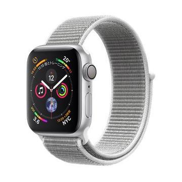 AppleApple Watch Series4 40mm GPS シルバーアルミニウム/シーシェルスポーツループ MU652J/A