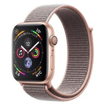 AppleApple Watch Series4 44mm GPS ゴールドアルミニウム/ピンクサンドスポーツループ MU6G2J/A