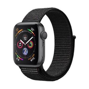 AppleApple Watch Series4 40mm GPS スペースグレイアルミニウム/ブラックスポーツループ MU672J/A