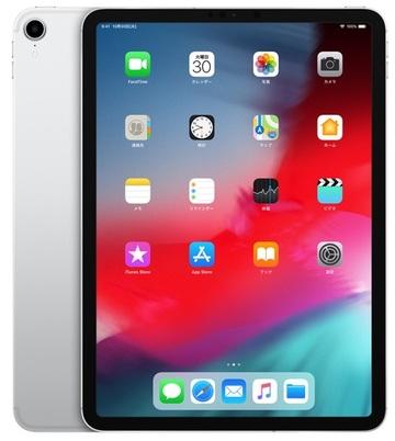au iPad Pro 11インチ Cellular 64GB シルバー MU0U2J/A