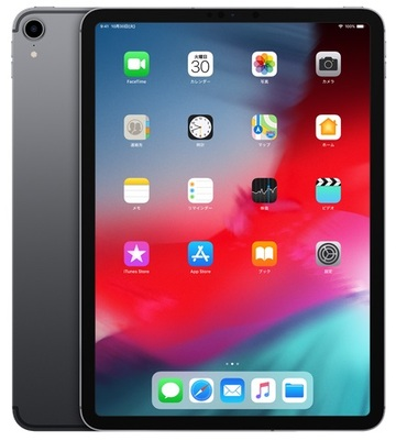 au iPad Pro 12.9インチ(第3世代) Cellular 512GB スペースグレイ MTJD2J/A