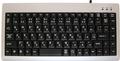 AOTECHAOK-89UPS 日本語ミニキーボード USB/PS2 シルバー