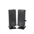 ELECOMMS-UP201BK USBスピーカー/0.5W/USB電源/ブラック