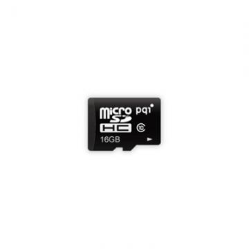 PQImicroSDHC Card 16GB Class4 <BMRSDH4-16G>