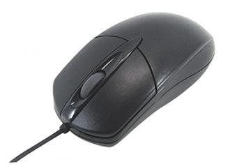 3R3R-KCMS01PBK スクロール光学式マウス PS2 ブラック