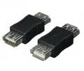 変換名人USBAB-AB 変換プラグ USB中継 Aメス-Aメス