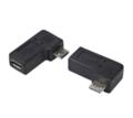 変換名人USBMC-RLF 変換プラグ microUSB→microUSB右L型(フル結線)