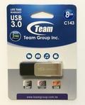 TeamTC14338GB01 8GB USB3.0メモリ ペンドライブディスク 回転式