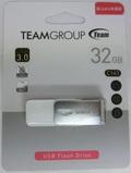 TeamTC143332GW01 32GB USB3.0メモリ ペンドライブディスク 回転式