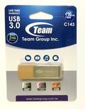 TeamTC1433128GN01 128GB USB3.0メモリ ペンドライブディスク 回転式