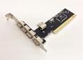 TimelyPCI-V6212-T USB2.0増設用インターフェースボード