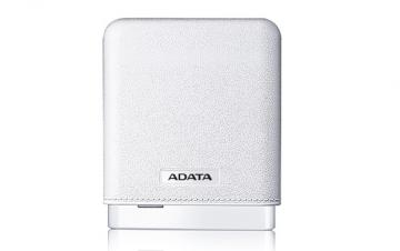 A-DATAAPV150-10000M-5V-CWH 10000mAhモバイルバッテリー 入力2A 出力2.1A 1ポート ホワイト